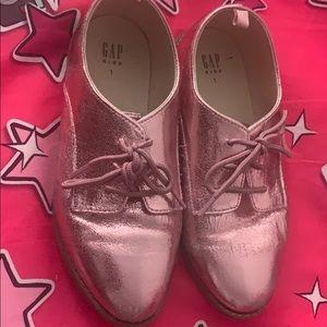 Gap Metallic Pink Shoes